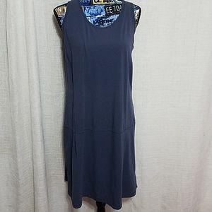 Columbia blue dress sz large